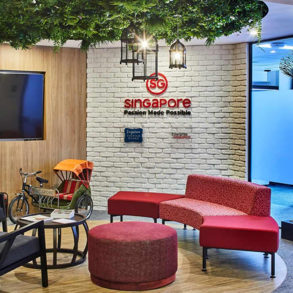 Office Fitouts Sydney, Singapore Tourism | Contour Interiors