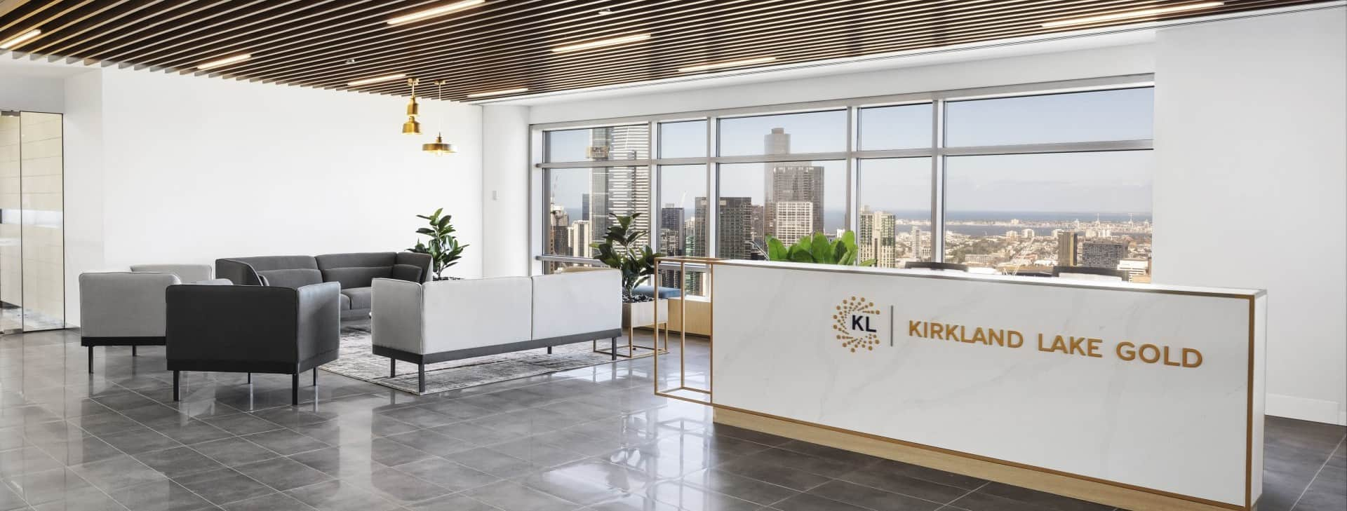 Office Fit Outs Melbourne, Kirkland Lake Gold | Contour Interiors