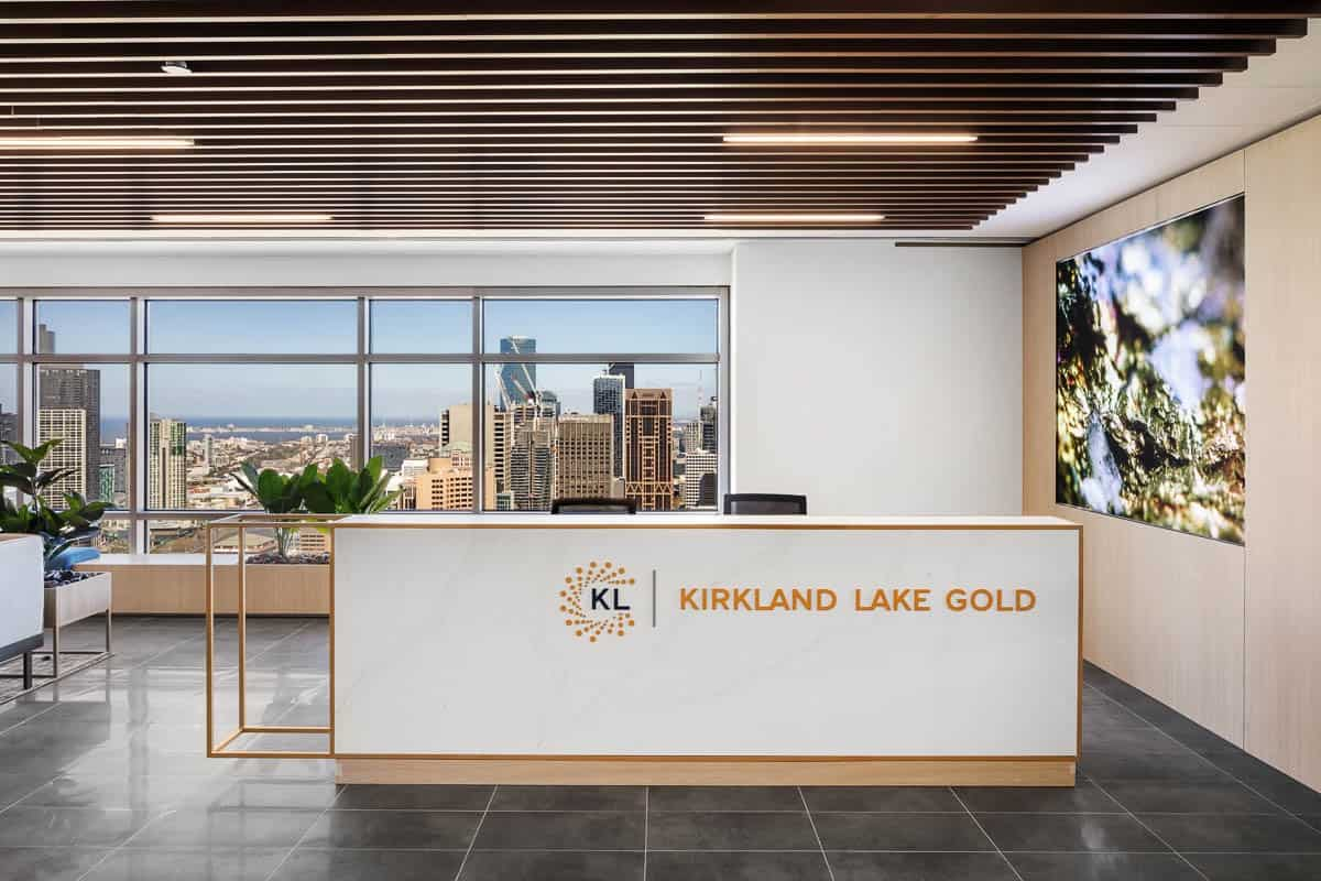 Office Fitouts Melbourne, Kirkland Lake Gold | Contour Interiors