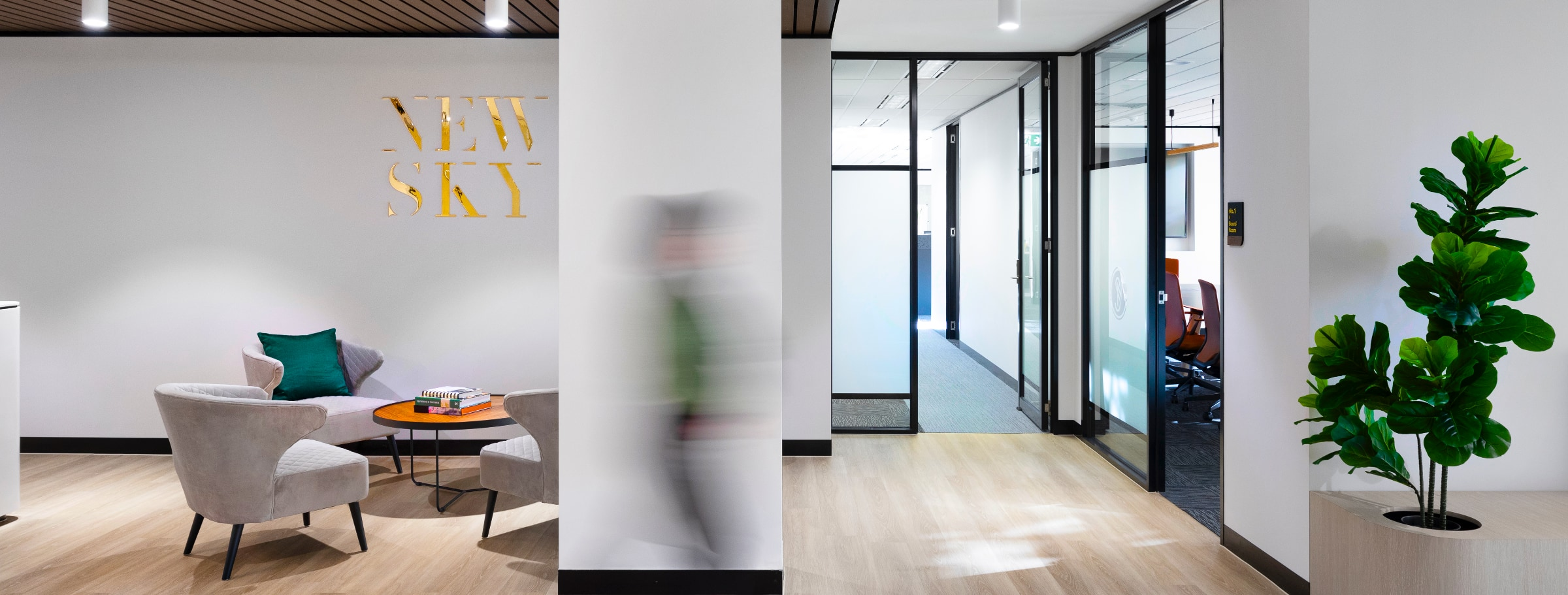 Office Fitouts Melbourne - New Sky Group