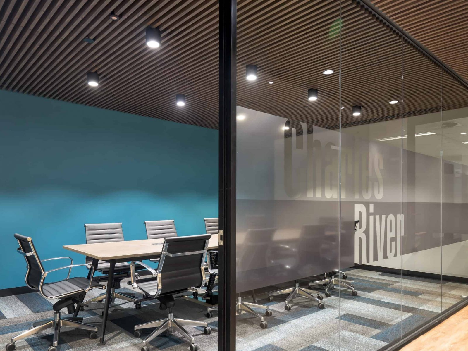 Office Fitouts Melbourne, Charles River | Contour Interiors