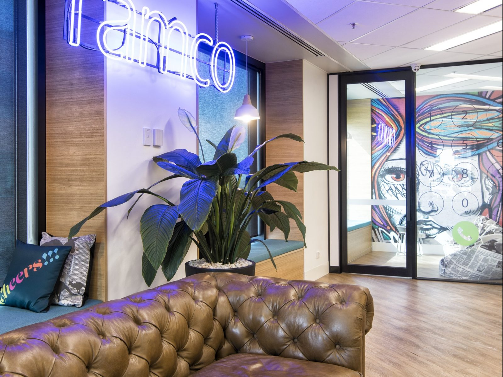 Office Design and Fit Out Melbourne, RAMCO IT Services | Contour Interiors