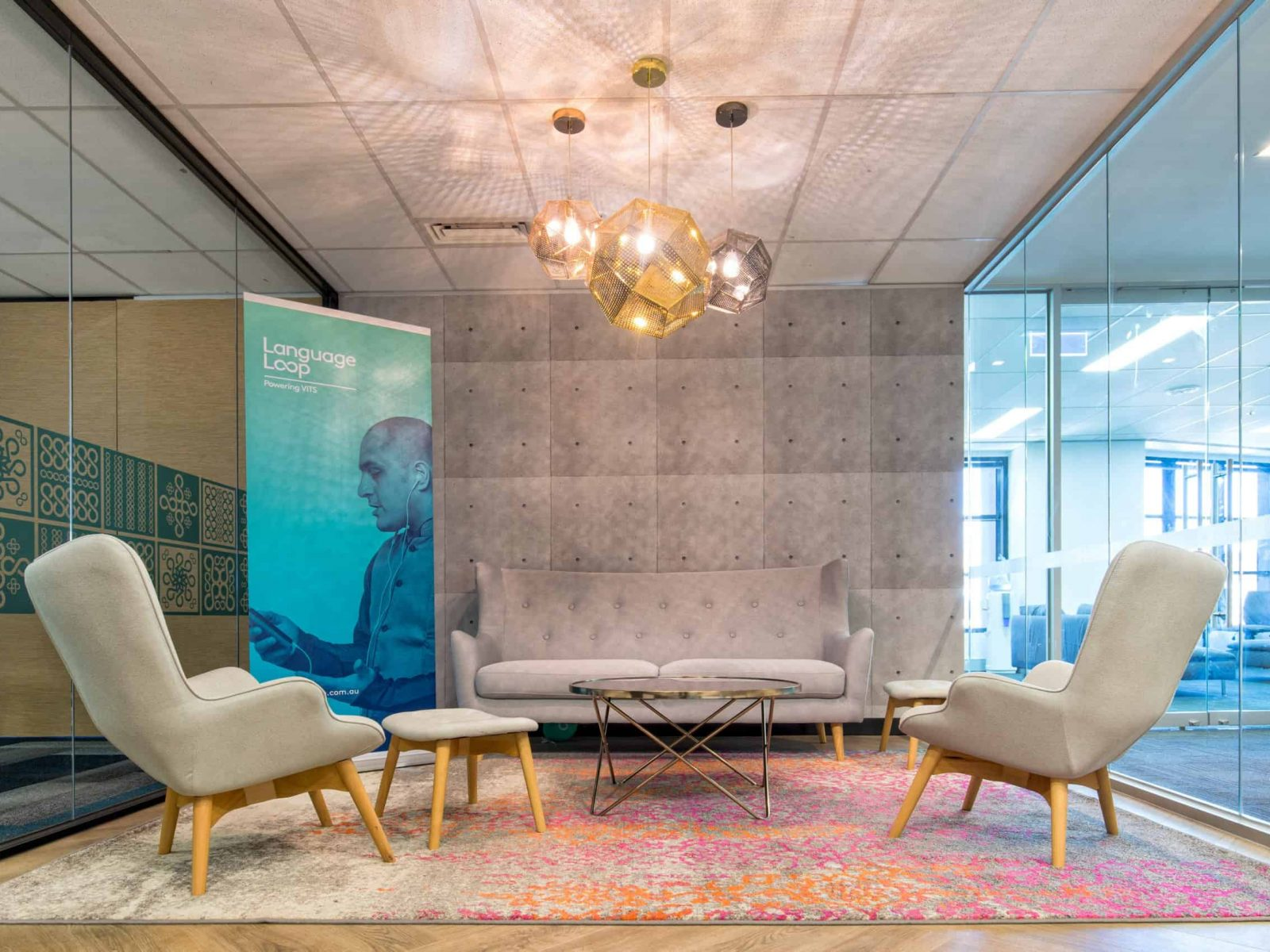 Office Design and Fit Out, Language Loop Melbourne   Contour Interiors
