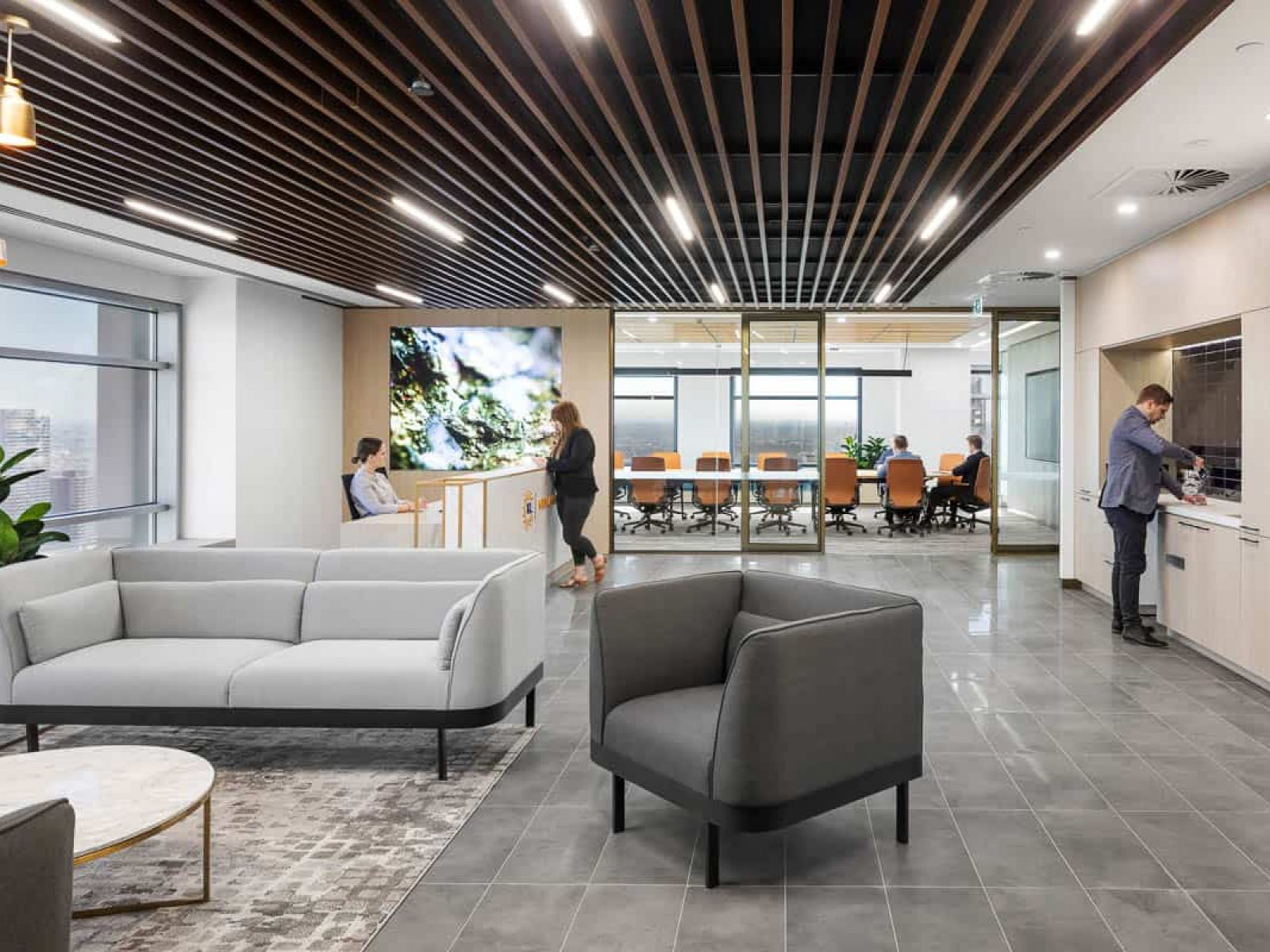 Office Design and Fit Out Melbourne, Kirkland Lake Gold | Contour Interiors